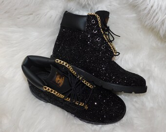 650ebf91d8b customized black timberland boots