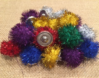 Sparkle Fuzz Snap-its; bag of 20