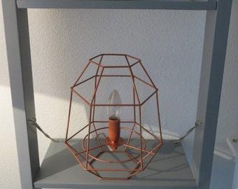 Copper - lamp / light metal
