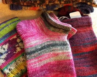 Sock of the month Club,   Socks subscription, Hand Cranked Wool Socks, Hand Made Socks, Knit Women's Socks, Teen Socks,