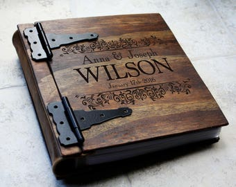 Unique Heirloom Gift Idea Personalized Family Photo Album Etsy
