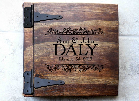 Private Listing - Shipping Upgrade For Custom Engraved Handmade Rustic Wooden Album