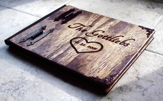 Rustic Wedding Guest Book, Wedding Guest Book W/ Rustic Charm, Rustic Wood Guest Book, Unique Rustic Wedding Guest Book, Rustic Wedding Book