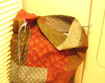 COLLEGE LAUNDRY BAG Handmade