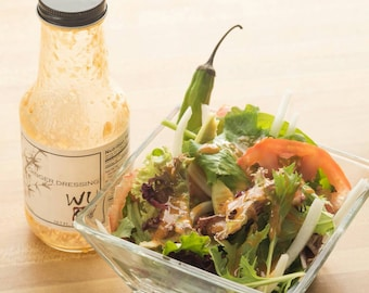 WU ginger dressing for sale-(3 bottles)-Gluten Free Sauce-All Natural-Authentic Japanese sauce-Find me Gluten free- Japanese Restaurant