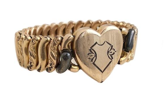 Sweetheart Expansion Bracelet - 12k Gold Filled He