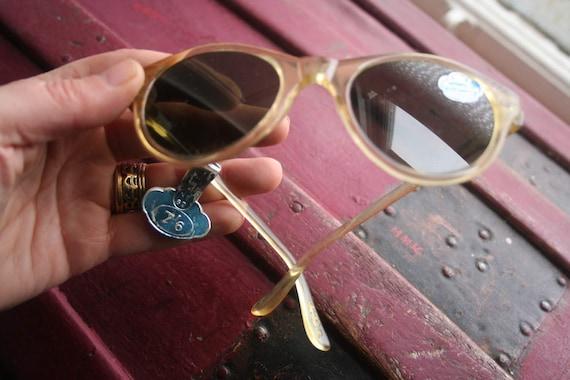 1950s sun glasses, true vintage, original, 1950s g