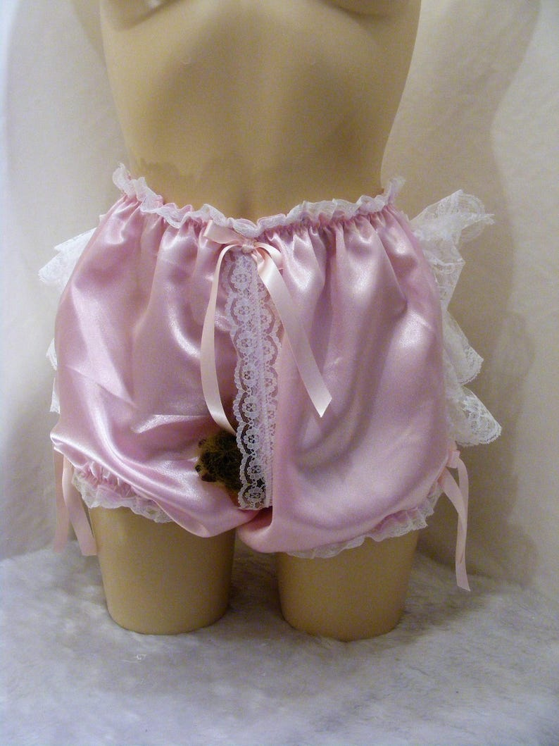 fde5a69dc Lacy extra frilly bum sissy adult baby open front peep hole | Etsy