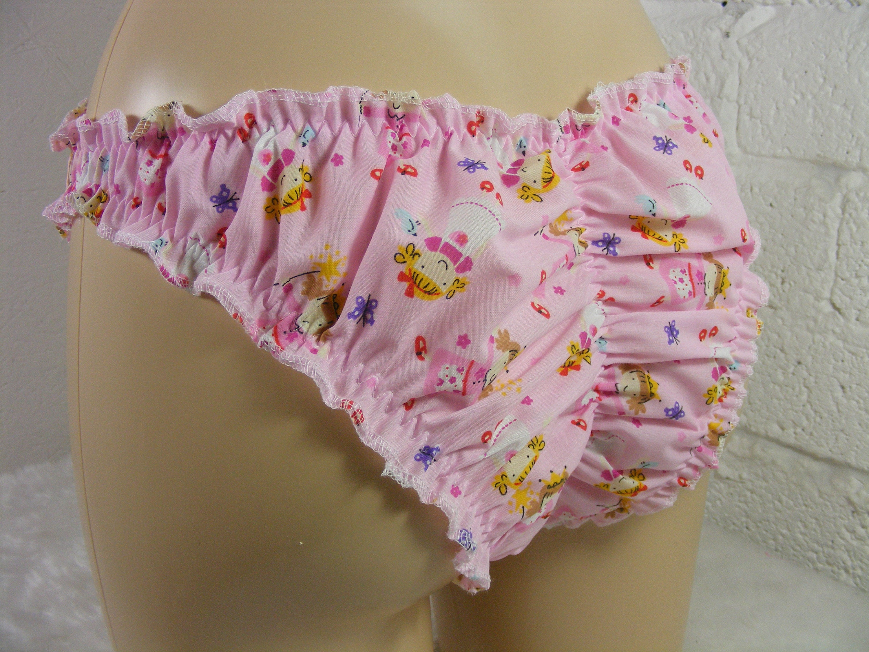 Lesbian Frilly Panties Gif