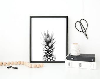 Pineapple Scandinavian home print