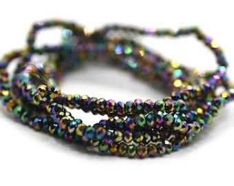 Delica Bead DB1759 Miyuki Delica Beads 110 Sparkling Beige Lined Amethyst 7.6 grams Diy Beads