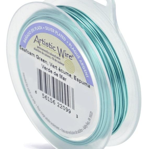 Artistic Wire 22-Gauge Olive Wire 15-Yards