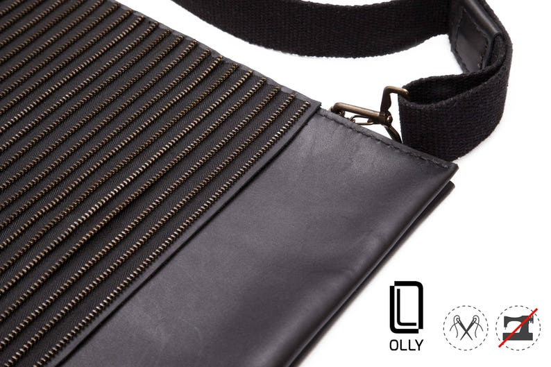 Leather Backpack Black Backpack Notebook and MacBook Handmade Leather Bags And Purses For Men And Women Unique and exclusive by OLLY