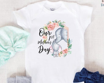 bb3665699 Mothers day onesie