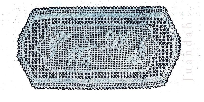 milk jug cover table centre sandwich d/'oyleys 1950s crochet book rare patterns for doyleys 14 PDF patterns