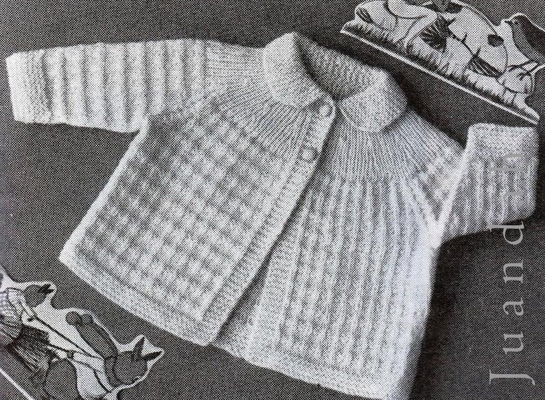 d4a4a3a95 Vintage baby knits 1950s knitting patterns 13 PDF patterns