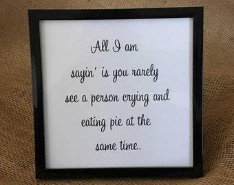 No Tears in My Pie
