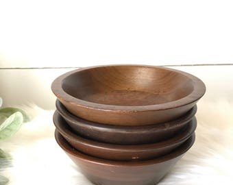 Set of Wooden Bowls
