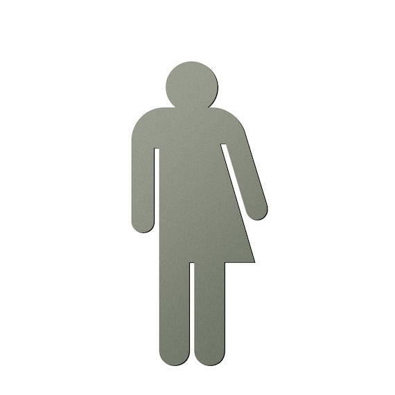 gender neutral unisex bathroom icon sign etsy etsy