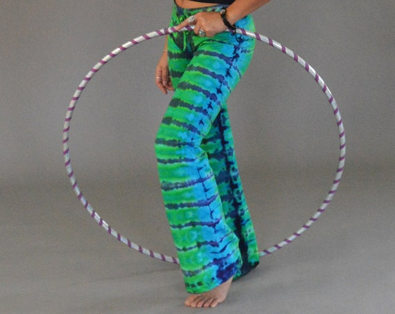 COTTON Lounge Pants - Blue and Green