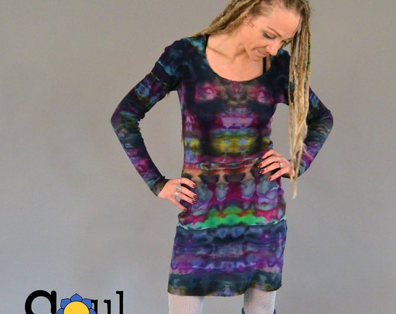 Organic Thermal Layering Dress