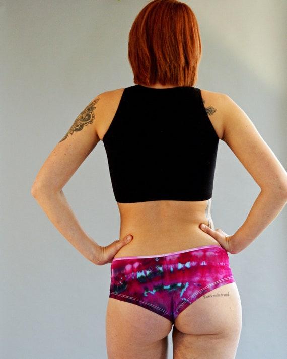 Tie Dye Women's UNDERWEAR ** Purple Haze Panties