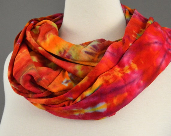 Infinity Scarf - Citrus Spiral