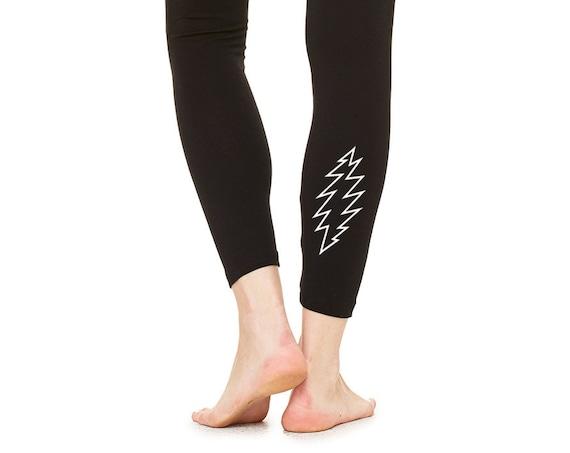 GRATEFUL DEAD Basics Bolt Leggings - Black