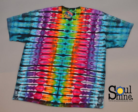 Acid Rainbow Tie Dye XL