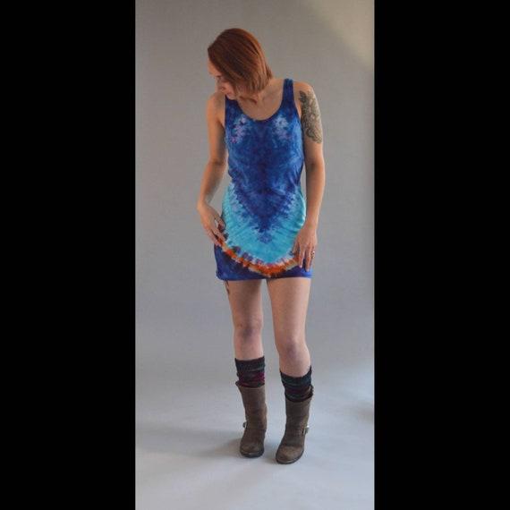 Tank Dress - Blue