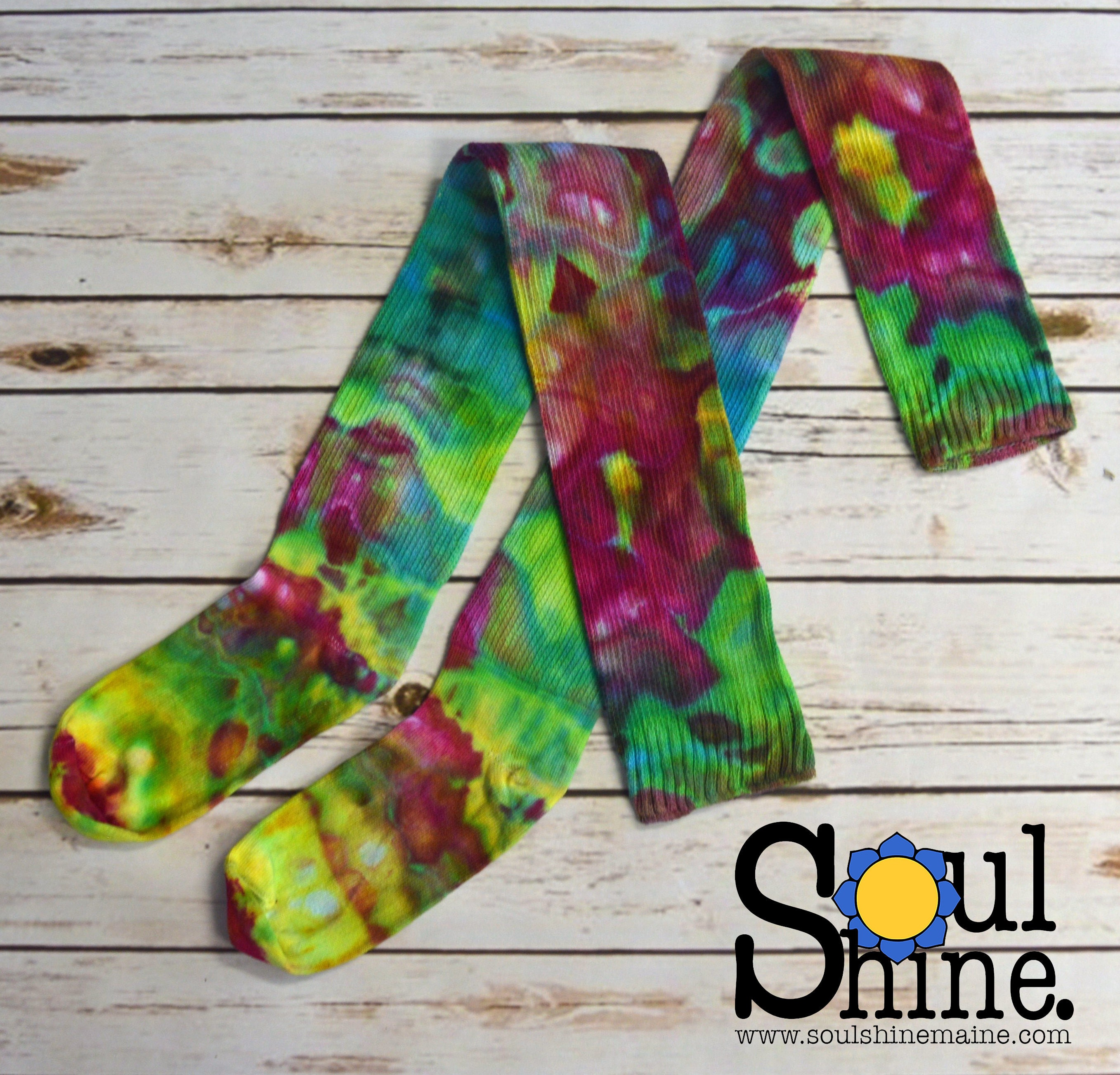 a99638f26 Extra Tall Thigh High Socks - Rainbow