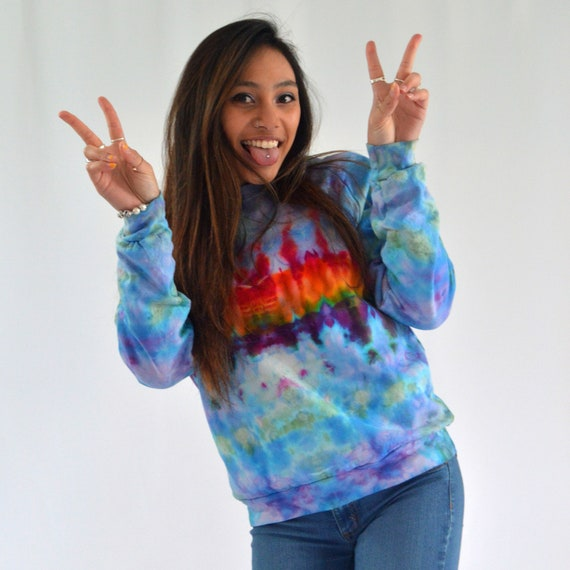 Melt the Rainbow Crew Sweatshirt SMALL or MEDIUM