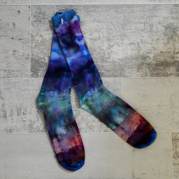 Tie Dye DANCING SOCKS #6