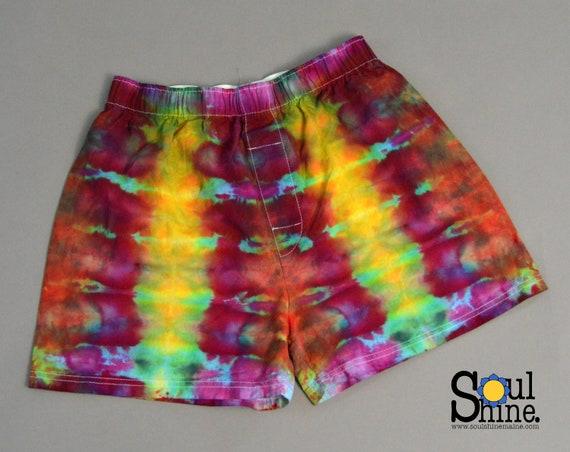 Tie Dye Boxer Shorts