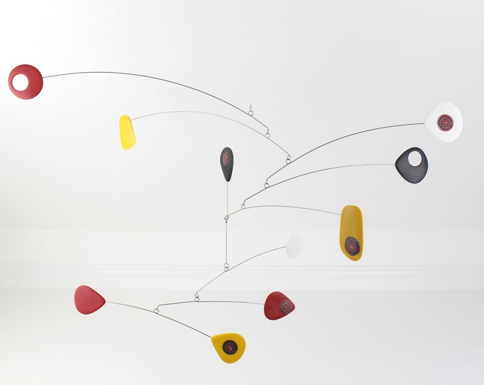 Modern Hanging Mobile, Mid Century, Retro Mobile, Retro Mobile, Hanging Mobile, Modern Home