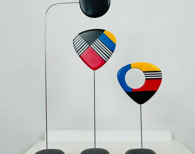 Abstract Mid Century, Modern Home, Sculpture Art, Modern Retro Sculpture,Retro Modern, Home Decor, Modernist, Mid Century