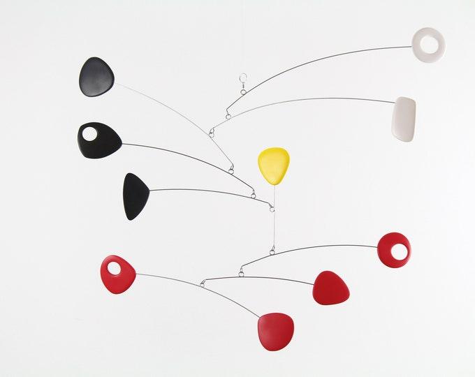 Modern Mobile, Mid Century, Retro Mobile, Sculpture, Modern Art, Hanging Mobile, Modern Home, Kinetic Mobile, Mobile, Trending