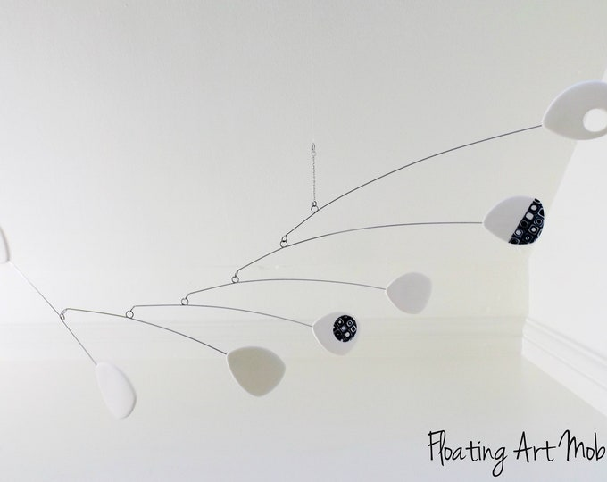 Modern Hanging Mobile, Mid Century, Retro Mobile, Hanging Mobile, Modern Home, Mobile Art, Kinetic Mobile, Moving Art, Sculpture,