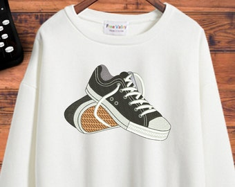 """Converse  Machine embroidery designs - 4""""x 4"""",  5"""" x 7"""", 6"""" x 10""""  Hoop sizes - # 03"""