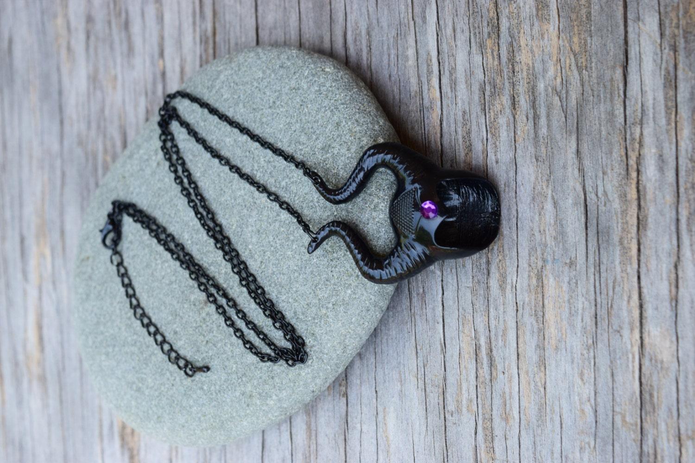 Maleficent Necklace Maleficent Horns Pendant Evil Villains