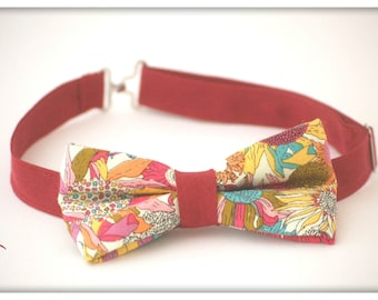 Made to order * bow tie for boy liberty (non-contractual photo)