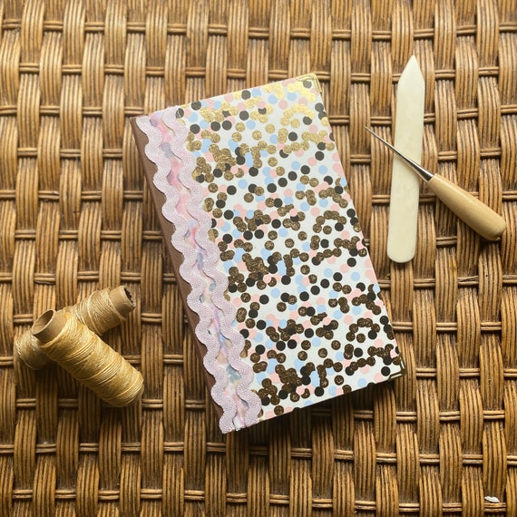 Handcrafted Sparkle Journal