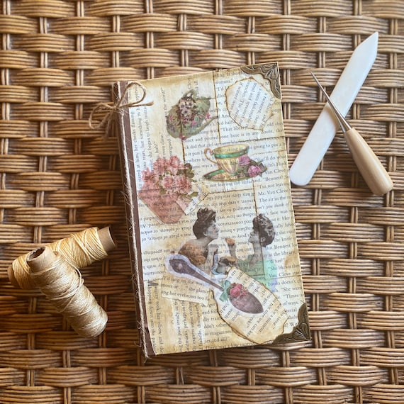 Handcrafted Tea Time Journal