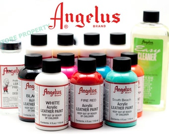 Leather Paint by Angelus -In Stock and Ready to Ship
