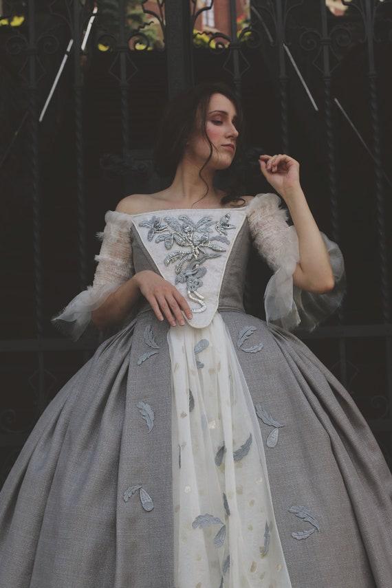 vestido de novia outlander