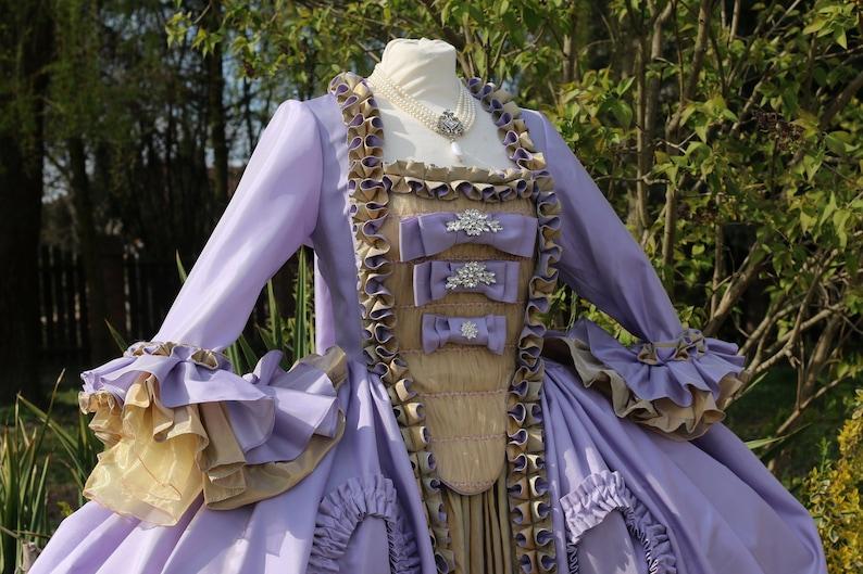 2f88f1e3a069 Marie Antoinette Dress Gown Rococo Baroque Masquerade Venice | Etsy