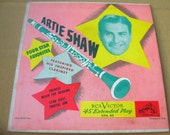 Vinyl Artie Shaw RCA Victor EP 45 E2PW-0139 very good condition not scratched.