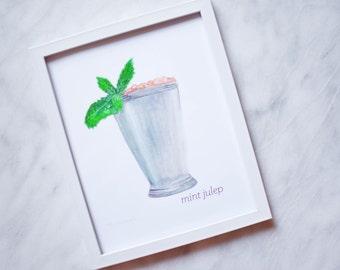 Mint Julep - 8x10 Print