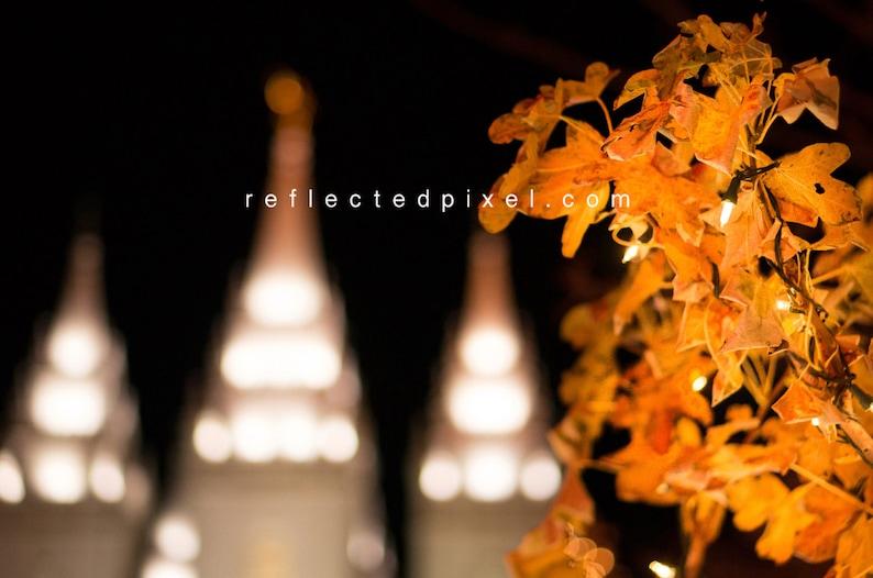 Temple Square Salt Lake City Christmas Lights.Lds Slc Temple Square Christmas Lights Print Lds Temple Photography