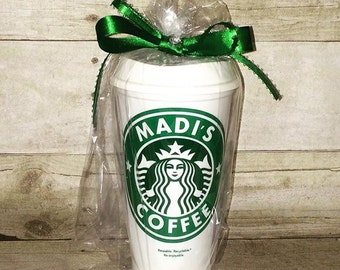 LIMITED TIME SALE!! A Personalized Starbucks Customized cups SC1174
